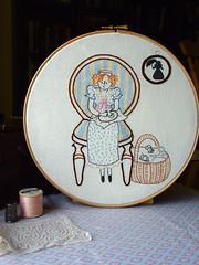 Little Dorrit pattern by Little Dorrit & Co. (juliezryan) Tags: thread chair pattern basket embroidery sewing scissors stitching pincushion dickens littledorrit