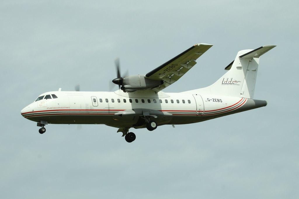 G-ZEBS (ATR-42 Blue Islands)