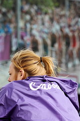 BT London Live Site Hyde Park Cadbury girl (MikeyFletch) Tags: brazil london sport festival garden media russia landmarks images hyde covent hydepark olympics triathlon londonstreets olympicgames london2012 quatar ukcapital rio2016 summer2012
