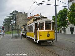 Batalha-Guindais (ernstkers) Tags: streetcar tram tramvia tranvia trolley stcp 143 191 stcp143 stcp191 porto portugal brill eléctrico strasenbahn bonde spårvagn