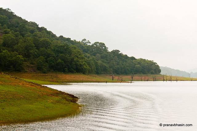 Boating At Periyar Tiger Reserve, Thekkady, Kerala