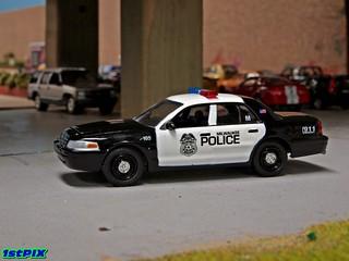 Milwaukee Police Ford CVPI
