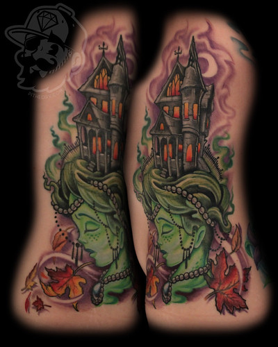 7849159612 84dc3635ea Halloween Tattoos