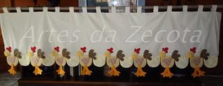 Bandô de galinhas (2,40x0,80)