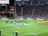 Bledisloe Cup, New Zealand Vs Australia, Eden Park (russelljsmith) Tags: newzealand yellow rugby edenpark board australia auckland seats spectators allblacks 2012 bledisloecup decipline 77285mm