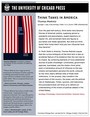ThinkTanksInAmerica (tom.medvetz) Tags: intellectuals conservatives policy experts americanhistory expertise conservatism thinktanks technocrats pierrebourdieu technocracy publicintellectual conservativemovement antiintellectualism politicalsociology policymaking publicsociology conservativephilanthropy