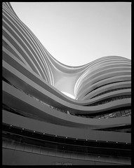 Galaxy Soho (Ben Lepley +_+) Tags: china white retail architecture facade office soho smooth beijing curvy commercial flowing organic architects capitalist zaha hadid zahahadid mixeduse developement