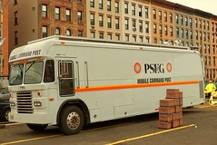 PSE&G Mobile Command Post (tom_hoboken) Tags: storm truck newjersey sandy hurricane nj hoboken hudsoncounty pseg mobilecommand publicserviceelectricandgas