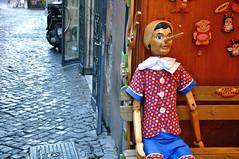 pinnocico - rome (carrie_breinholt) Tags: italy rome trastevere pinocchio travelphotography touristshop