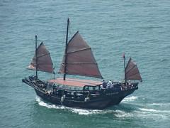 Chinese Junk (AC Studio) Tags: sea boat junk asia ship harbour vessel victoria tourist hong kong maritime junks