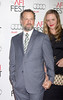 "David Costabile, Eliza Baldi arrives at the ""Lincoln"" Premiere at the AFI Fest at Graumans Chinese Theater in Los Angeles Calfornia, USA"