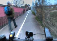 Riding Home (Malcolm Bull) Tags: bike bicycle march ride riding commute 365 include 2014 20140317riding0057tonemappededited1web