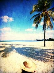 Caribbean beach series . Cuba