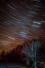 Sweet Dreams (TheExplorographer.com) Tags: longexposure sky night sony astro adobe jupiter comet lightroom geminid startrail perseid