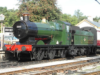 Locomotive #3205, South Devon Railway 2013