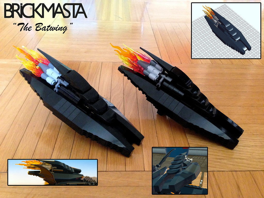 lego batman movie batwing instructions