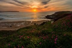 Los Locos (Marce Alvarez.) Tags: landscape mar playa paisaje atardeceres cantabria suances cantabrico acantilados marcealvarez