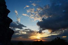 AK_PhnomBakheng_14 (chiang_benjamin) Tags: sunset sky tower clouds temple cambodia angkorwat phnombakheng