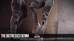 [VALE KOER] DISTRESSED DENIM (VALE KOER) Tags: life art 3d model vale sl jeans second denim biker blender distressed ultra vk koer