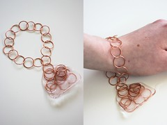 Ice bracelet on body (chloejadeyoung) Tags: camera light sunlight cold colour art ice water canon project fun photography design 3d student wire melting natural personal body contemporary circles tripod traces experiment course freeze heat gradient copper change wearable process sequence playful leftover development unexpected coursework ephemeral materials part3 transient impermanent artfoundation 700d bodyreaction uncontentional