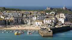 St Ives Harbour (CarolynEaton) Tags: cornwall harbour stives