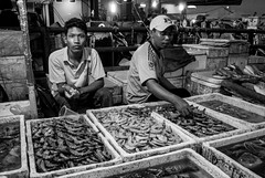 Night Fish Market (Irwin Day) Tags: fish market pasar ikan muara karang angke