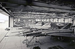 A hanger full of the little known French Mirage IV nuclear bombers. They held the world 500km and 1000km speed records until the SR-71 came out a few years later. (Early 1960s) [2048x1354] #HistoryPorn #history #retro http://ift.tt/1TrREcJ (Histolines) Tags: world records history speed out french known early little nuclear retro full few timeline mirage they years 1960s held came iv until hanger sr71 later bombers vinatage 1000km a 500km historyporn histolines 2048x1354 httpifttt1trrecj