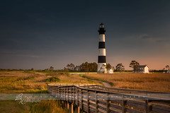 Bodie Lighthouse - Explored (betty wiley) Tags: lighthouse north carolina boardwalk marsh bodie outer banks