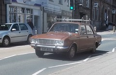 Humber Sceptre (occama) Tags: old uk brown classic car cornwall british arrow 1972 1973 practical humber sceptre rootes sxf163l