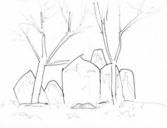 Chestnuts Long Barrow (Doilum) Tags: stone standing kent drawing stones chamber burial medway megaliths neolithic megalith dolmen sarsen