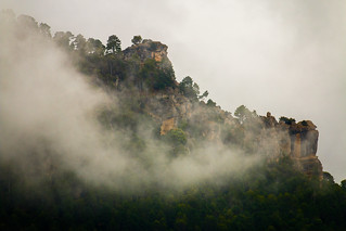 Nieblas en Sierra de Segura