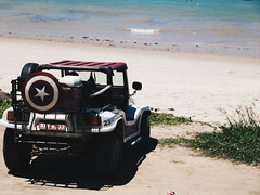 Praia de Jacum (lainecris12) Tags: summer brazil vacation people sun praia beach nature car brasil boat pessoas barcos natureza frias paisagem vero nordeste paraba ambulante jacum brazilbeach vsco dayoof