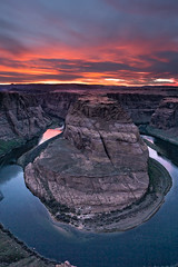 We Stayed for the Sunset (My Friends & Family.) Tags: sunset coloradoriver horseshoebend pageaz
