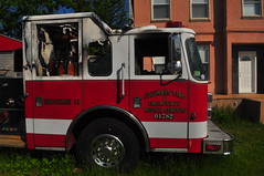 Columbus Fire and Emergency Medical Services Engine 11 (Triborough) Tags: county nyc newyorkcity ny newyork engine richmond firetruck saber pierce fireengine statenisland cfd engine11 tottenville columbusfiredepartment cfems columbusfireandemergencymedicalservices