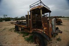 One of Tom Kruse' mail vehicles at the Mungerannie Pub SA (darrylkirby) Tags: au australia southaustralia campingtrips birdsvilletrip thesill