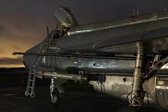 BAC Lightning F6 - 63 (NickJ 1972) Tags: night photo shoot photoshoot aviation ground nightshoot lightning lpg js proving bac 2016 f6 englishelectric britishaircraftcorporation bruntingthorpe xr728