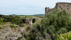 Vulci (johnfranky_t) Tags: bridge panorama castle river t puente fiume ponte hills panasonic plain castello castillo colline pianura colinas vulci tz40 johnfranky