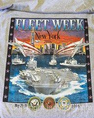 2016 Fleet Week New York T-Shirt (jag9889) Tags: nyc newyorkcity usa ny newyork unitedstates outdoor manhattan clinton unitedstatesofamerica tshirt celebration usnavy hellskitchen fleetweek usmarines 2016 uscoastguard pier88 seaservices manhattancruiseterminal jag9889 2016fleetweek 2016fleetweeknewyork 20160526