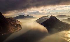 Magic light... (Alex Switzerland) Tags: light mountain canon landscape eos schweiz switzerland ticino dramatic bre svizzera lugano paesaggio 6d luganese