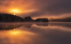 Loch Achray (J McSporran) Tags: sunrise scotland trossachs lochachray