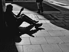 Everyday #Adelaide No. 311 (Autumn/Winter) (michelle-robinson.com) Tags: snapseed life 4tografie everydayadelaide southaustralia fujifilm adelaide streetphotographer australia blackandwhite moments monochrome capturinglife streetphotography everydayaustralia bw michellerobinson editedonipadair2 people michmutters xt10 man silhouette homeless poverty socialissues begging documentary shadows
