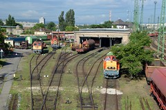 2016_Ferencvros_2118 (emzepe) Tags: railroad station yard train tren hungary budapest engine eisenbahn railway zug bahnhof loco class series locomotive bahn railyard ungarn classification 2016 lokomotiv hongrie nyr jnius vonat plyaudvar vast ferencvros ferencvrosi mozdony sorozat lloms vastlloms sorozat plyaszm