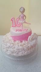 ballerina cake (Divine Cakes Iloilo) Tags: birthday cakes cake dc cafe ballerina divine iloilo roxas fondant bakeshop