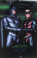 Batman and Robin (Guardian Screen Images) Tags: chris film robin comics movie book dc comic nipples dick books super rubber suit capes grayson hero superhero batman cape forever heroes 1995 superheroes spandex odonnell lycra