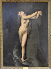 "Roubaix (Nord) - Muse de la Piscine - ""Anglique"" (atelier de Jean-Dominique Ingres, avant 1919) (Morio60) Tags: muse nord 59 piscine roubaix ingres angelique"