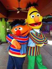 Ernie and Bert (meeko_) Tags: africa gardens tampa florida bert sesamestreet characters ernie muppet themepark buschgardens busch buschgardenstampa buschgardensafrica buschgardenstampabay muppetcharacters buschgardenscharacters sesamestreetsafarioffun