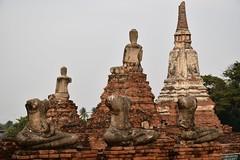 _DSC0344 (lnewman333) Tags: sunset sea river thailand temple seasia southeastasia buddha buddhist unescoworldheritagesite ayuthaya ayutthaya chaophrayariver 1460 watchaiwatthanaram kingprasatthong