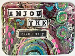 Enjoy-ATC-available for trade (T.Goller) Tags: art atc collage mixedmedia