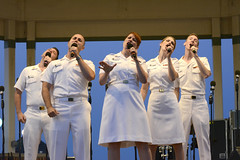 US Navy Band Sea Chanters - June 25th, 2016 (Rehoboth Beach Bandstand) Tags: music beach delaware bandstand rehoboth