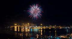 Fuochi d'artificio di San Giovanni 2016 a Vado Ligure [6] (Tiziano Caviglia) Tags: sea port lights mare fireworks liguria porto luci fuochidartificio marligure vadoligure rivieradellepalme portovado